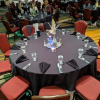 Illinois Housing Association Party table setting