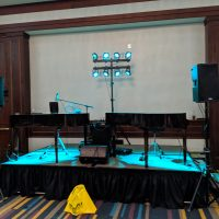 Illinois Housing Association Party stage