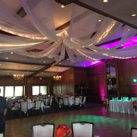 Forest Hills Country Club Wedding dance floor