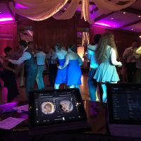 Forest Hills Country Club Wedding dancers