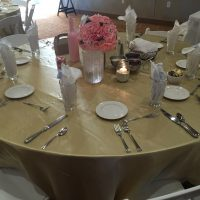 Sturgeon Bay Stone Harbor Wedding table setting