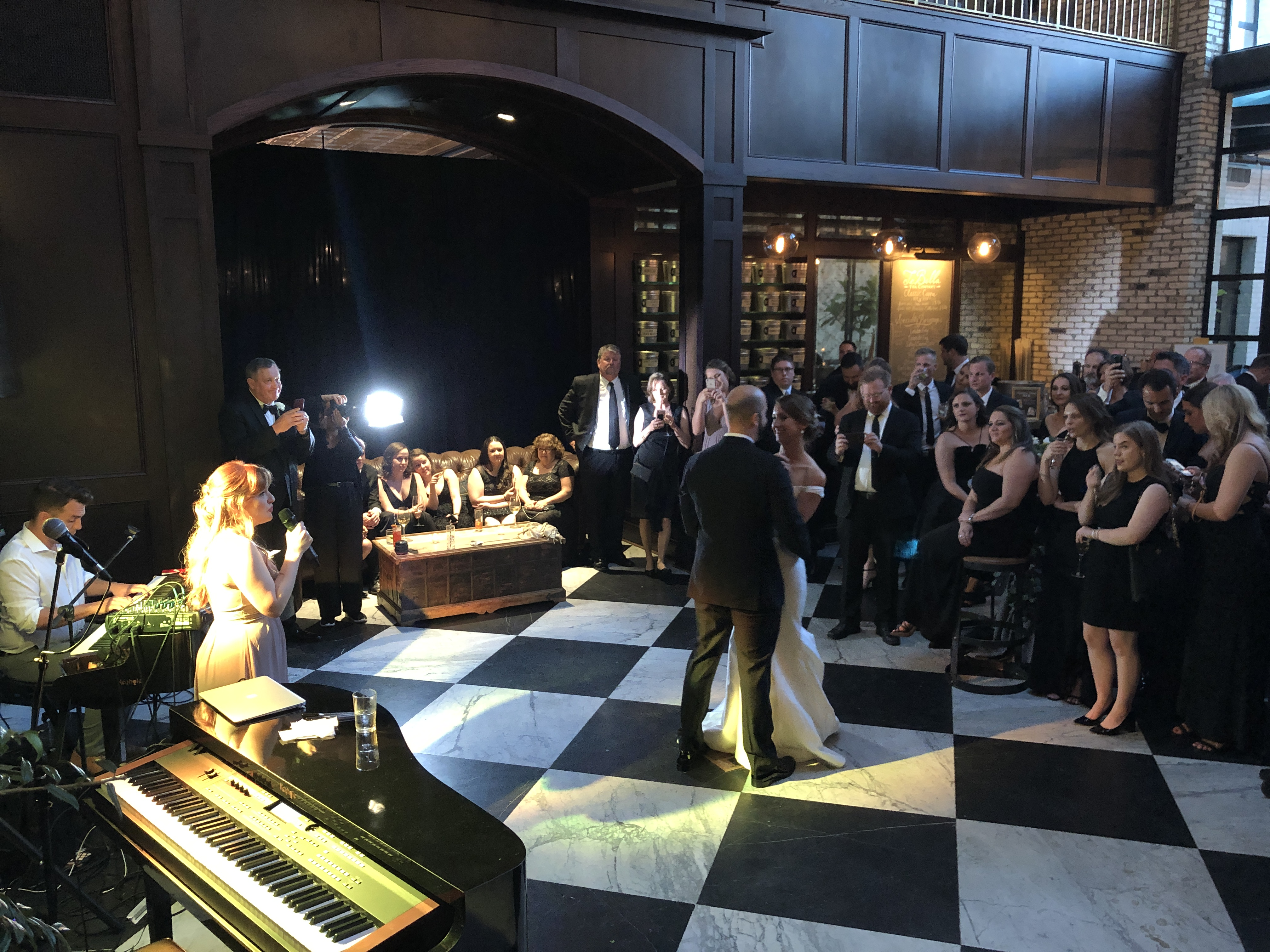 Oxford Exchange Wedding.Oxford Exchange Wedding Event Felix And Fingers Dueling Pianos