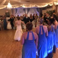 Dixon Elks Lodge Wedding first dance