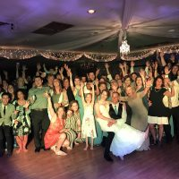Dixon Elks Lodge Wedding party