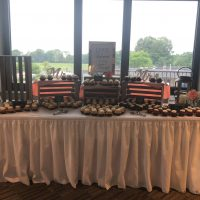 Rockford Country Club Wedding dessert table
