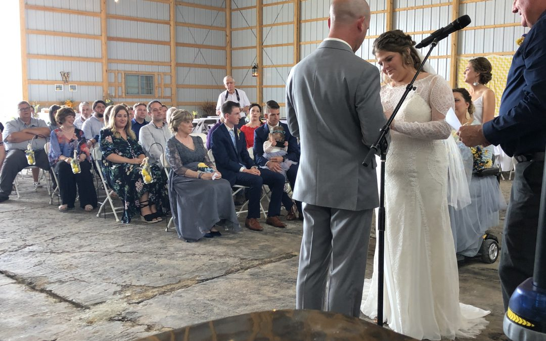 Carlinville Farm Wedding