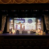 Virginia Theater Corporate Awards Show stage