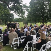 Rockford Country Club Wedding ceremony