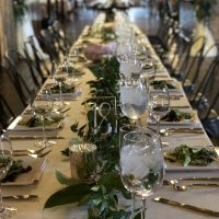 Another Haight Wedding table setting