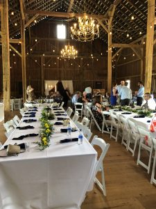 Hidden Vineyard Barn Wedding Event