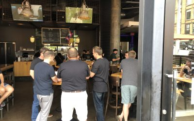 Exile Brewing Employee Event