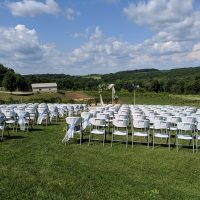 Hawks Mill Winery Wedding outdoor ceremony location