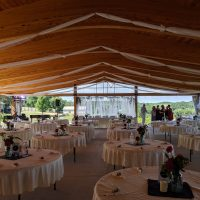 Hawks Mill Winery Wedding pavilion