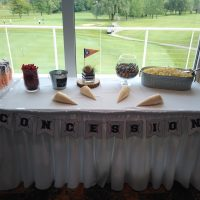 River Club Baseball Wedding