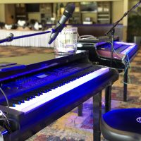 River Club Baseball Wedding pianos