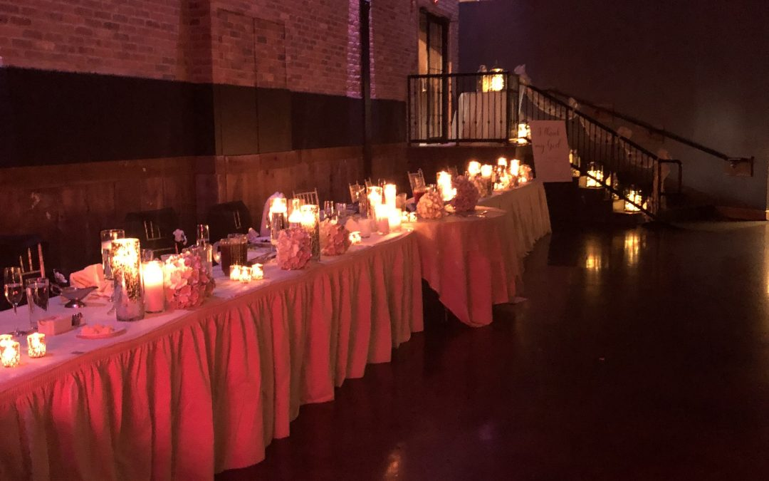 Warehouse on State Wedding Event