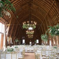 Sophisticated Sugarland Barn Wedding Event