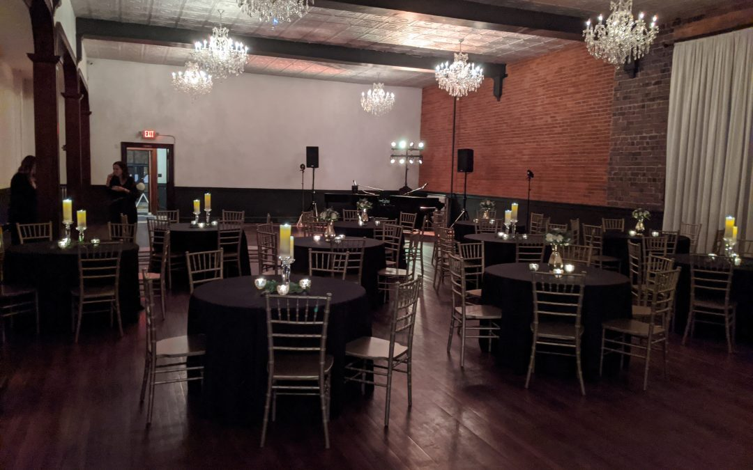 Silver Fox Elegant Ballroom Wedding Reception