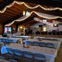 Red Barn Wisconsin Wedding seating