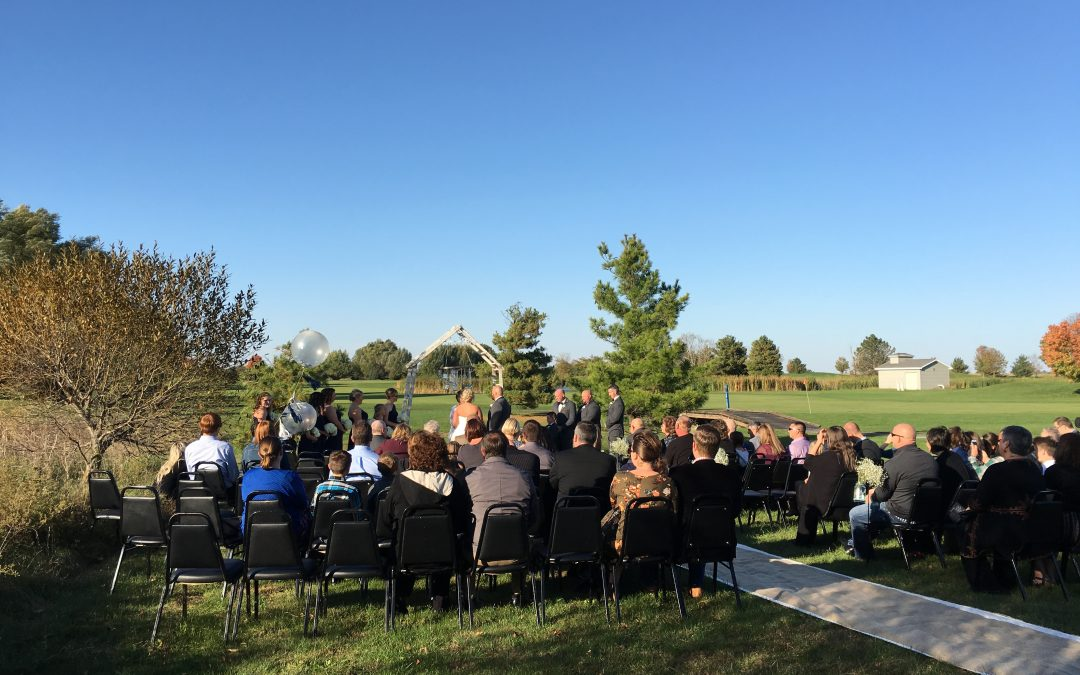Railside Golf Course Wedding Event