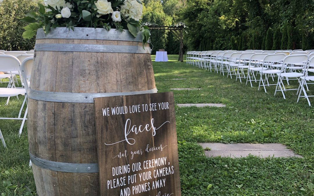 County Line Orchard Summer Wedding