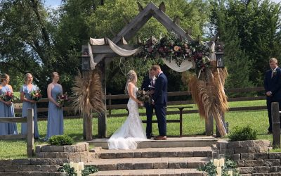 Creekside Event Barn Wedding